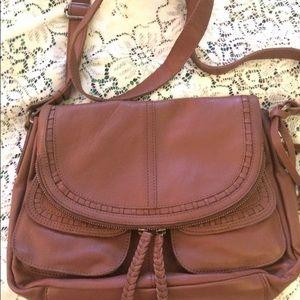Lucky Brand Genuine Leather Modesto Crossbody NWT